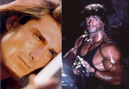 Fabio vs Rambo